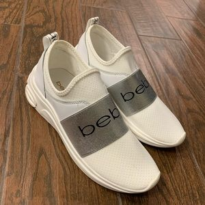 BEBE sock tennis shoes